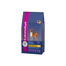 Eukanuba Mature & Senior Small & Medium Breed 15.00 кг.